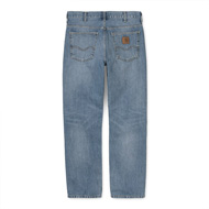 Marlow Pant Blue Worn Bleached