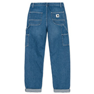 W' Pierce Pant Blue Dark Stone Washed