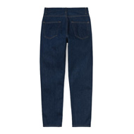 W' Page Carrot Ankle Pant Blue Rinsed
