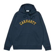Hooded University Patch Sweat